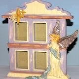 Picture Frame – Angel w/4 windows  #WH-3243