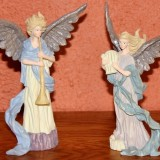 Pair Angels w/musical Instruments   #A-3239