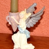 Angel Candle Holder   #A-3242
