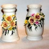Flowered Vase – sm.   #P-138