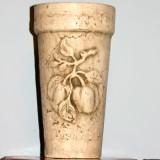 Vase w/pepper sprig   #V-158