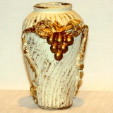 Decorative Vase w/grapes – A    #G-85431