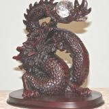 Oriental Dragon w/Crystal       #O-9178
