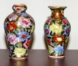 Chinese Enamelled Vases – pr. mini      #O-7754