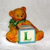 Teddy w/Block   #584881