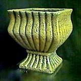 Planter –  Gold/Black – sm    #PF-101