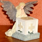 Angel Votive Candle   #A-3248