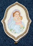 Trinket Box – w/Mary & Child & small Cross   #R-18337