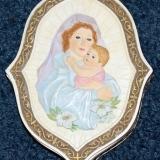 Trinket Box – w/Mary & Child & small Cross   #R-18337