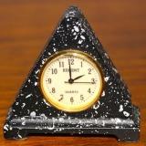 Pyramid or Triangle Shaped Clock   #MC-25