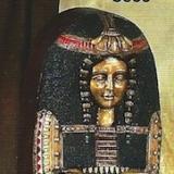 Sarcophagus Female – 4′ tall    #S-833