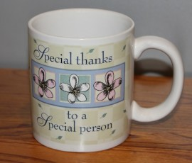 Special Thanks to a Special Person