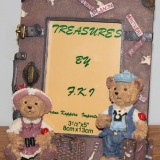 Picture Frame – Traveling Bears   #PF-33-202