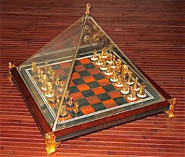The Treasures of Tutankhamun Chess Set