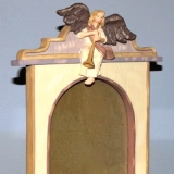 Picture Frame – Angel Blowing Horn   #WH-3249