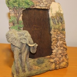Picture Frame – Elephants   #F-061C