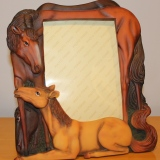 Picture Frame – Horses   #C-3857