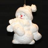 Ornament – Sparkle Snowman    #CH-39400