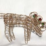 Wire Reindeer   #CH-489