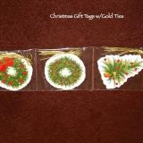Christmas Gift Tags   #X-1418