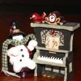 Snowman w/Piano   #C-898776