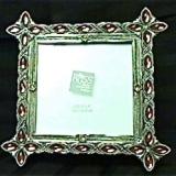 Frame – Metal & Jeweled – Square   #PF-109
