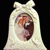 Picture Frame – Wedding Bell   #15953