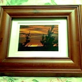 Framed – Sunset at Sauble    #WH-5566
