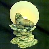 Seal – Votive Candle Holder   #2553