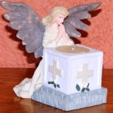 Angel Votive Candle  #A-3248