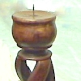 Candle Sticks – Wood  #C-0987