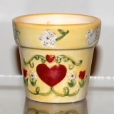 """Potted"" Candle – mini    #31404"