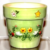 """Potted"" Candle – sm   #31403"