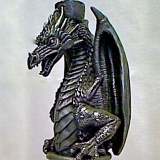 Candle Holder – Dragon A   #CH-67989-PW