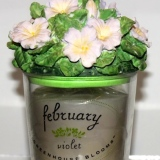 February Birthday  – Scented Candle  #2701