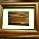 Framed – Sunset at Sauble Beach   #WH-5565
