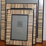 Picture Frame – Stripes – med  #WH-2467