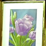 Framed – Tulips   #WH-8398