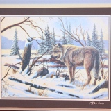 Wolf – Oil Painting   #00.65
