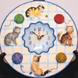 Clock – Cats  #C-672