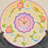 Clock – Hummingbirds   #C-202