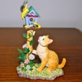 Cat & the Birdhouse   #CTY-6005A