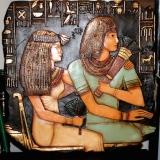 Plaque – Maya & Ramses  #WH-0882