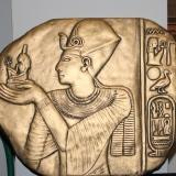 Plaque – A Golden Age Pharaoh   #WH-76856