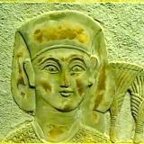 Plaque – Egyptian head  #80992