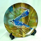 Blue Jay Collector Plate  #CP-16
