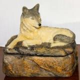 Trinket Box – Wolf  A-3517