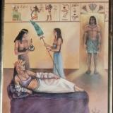 Framed Egyptian Print   #P-358