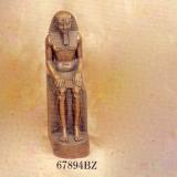 Ramses II sitting on Throne   #67894-BZ