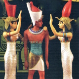 Ramses w/2 of his Wives    #69253